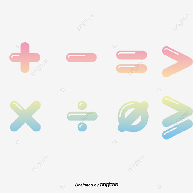 Math Symbols Math Symbol Png And Vector For Free Download