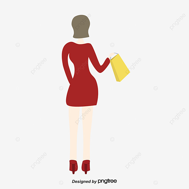 shopping woman fashion fashion woman shopping png and vector for rh pngtree com Fashion Shopping Vector fashion girl vector png