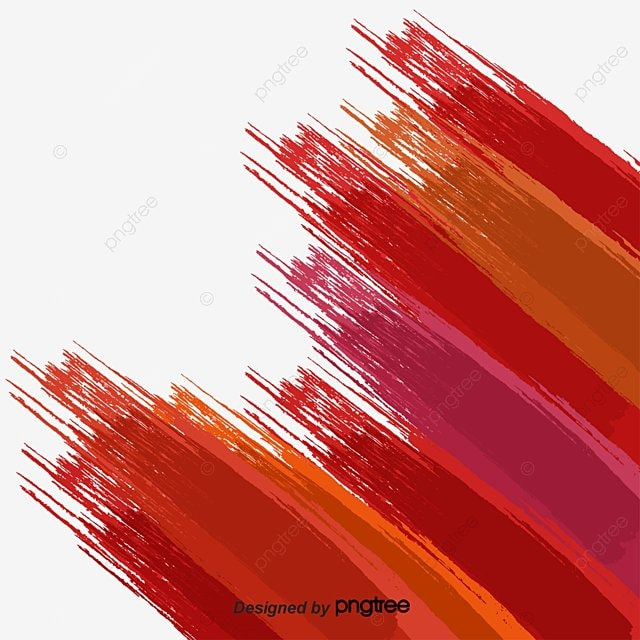 red stroke gradient creative poster template red bar poster warm