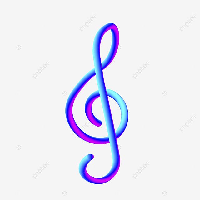 девушкам цветные картинки скрипичного ключа и нот сих пор