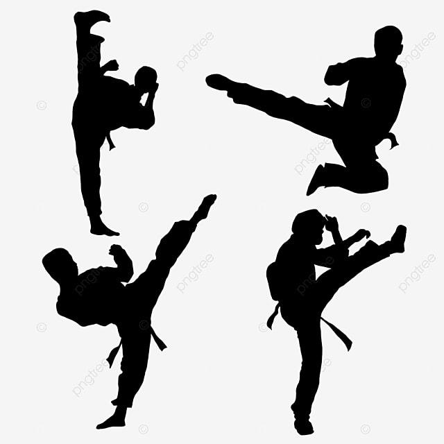 taekwondo, Hand Painted, Character PNG Image
