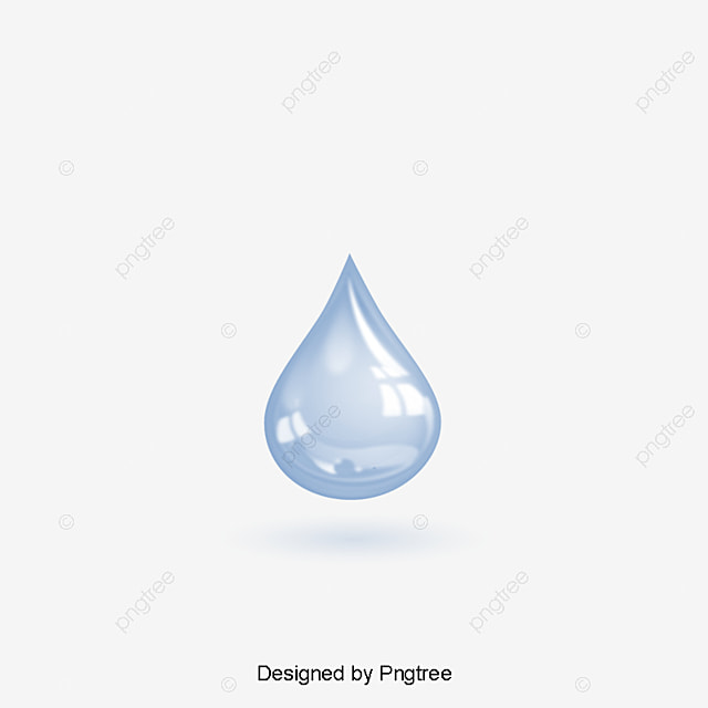 Blue Water Drops Vector, Water, Drop, Blue Water Drop PNG ...