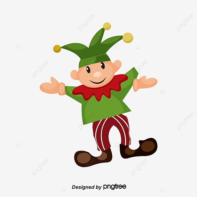 o duende engraçado dos desenhos animados cartoon linda verde png e