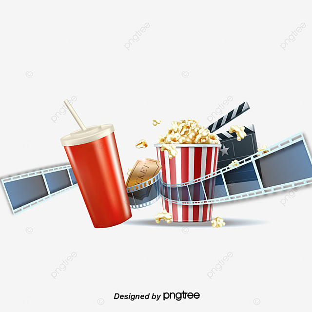 En mati re de cin ma boisson pop corn film png et vecteur - Clipart cinema gratuit ...