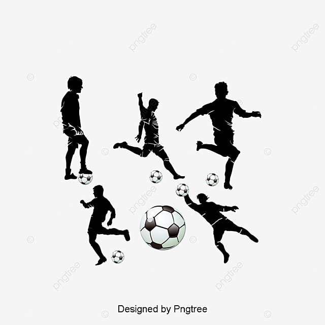 football player silhouette lextinction le football fichier