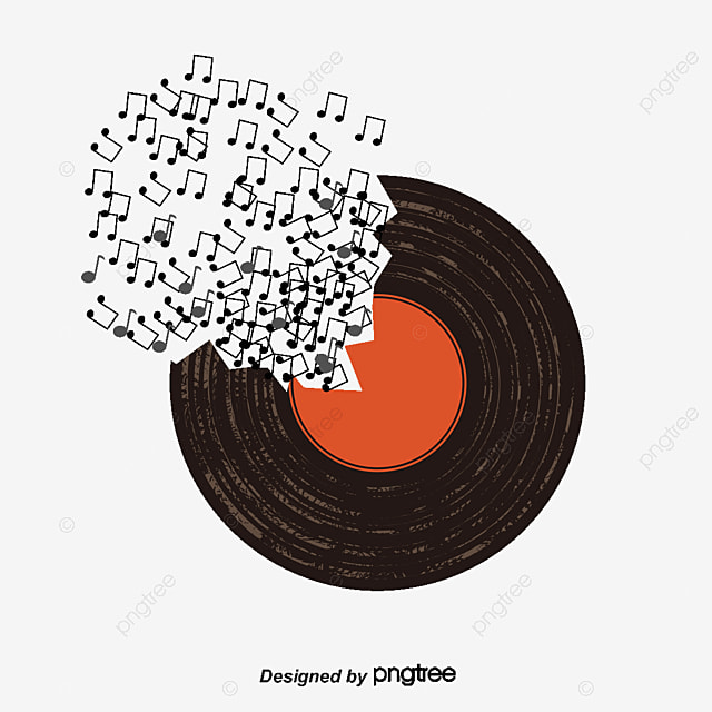 Creative Music Vector Note PNG And