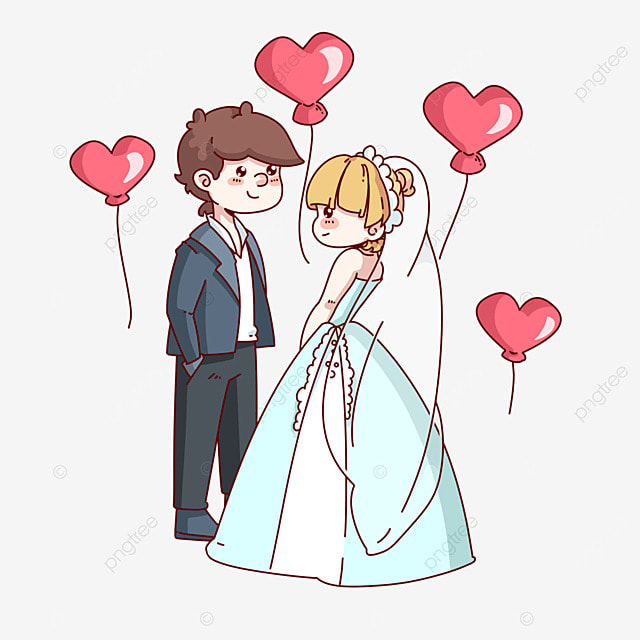 Cartoon Couple Png Images Vectors And Psd Files Free Download On