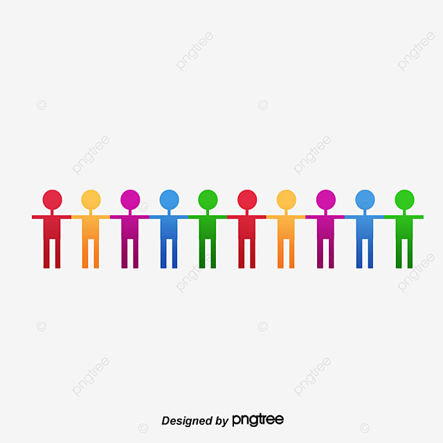 people holding hands hand in hand people colorful png image and rh pngtree com Cartoon People Holding Hands Hands Holding Globe Clip Art