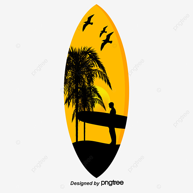 Surfboard Png, Vectors, PSD, and Clipart for Free Download | Pngtree
