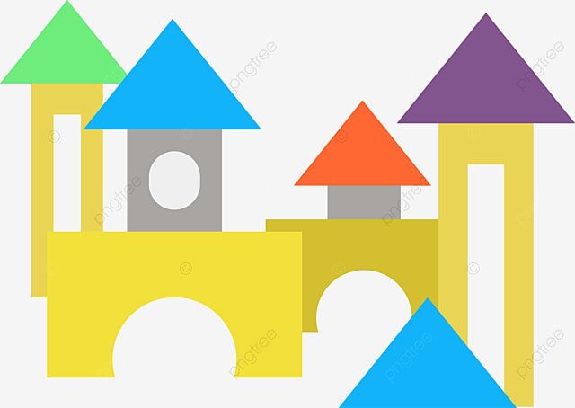 Toy Building Blocks Building Clipart Kids Toys Box Png Image And