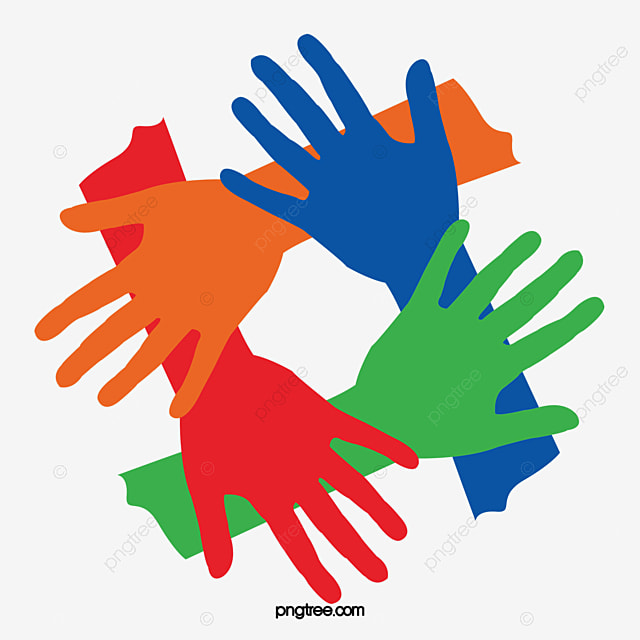 Gesture Of Solidarity 1069504 on hand clip art
