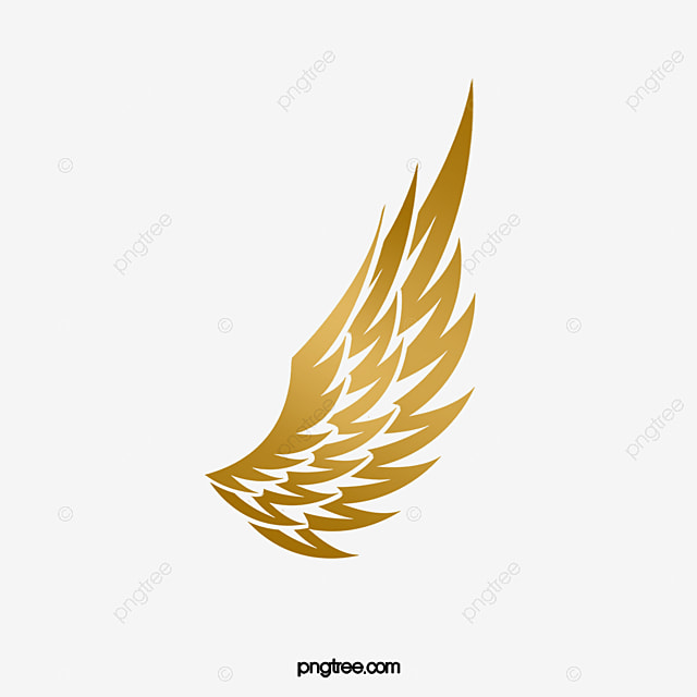 Wing Gold >> Wing Gold Gradual Change Png Image And Clipart For Free Download
