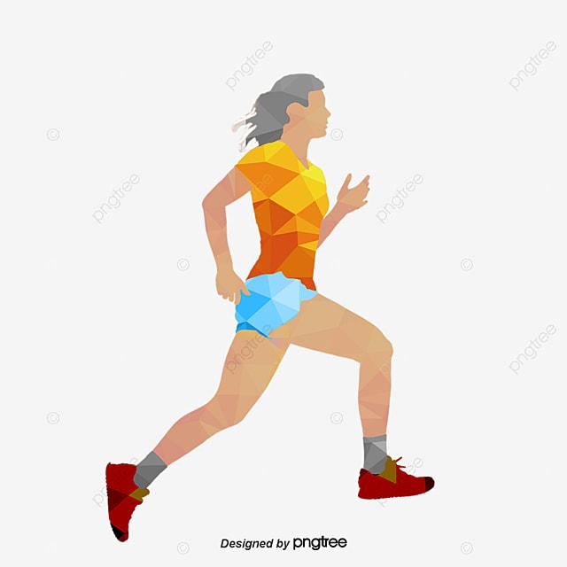 el hombre corriendo run movimiento el hombre png y