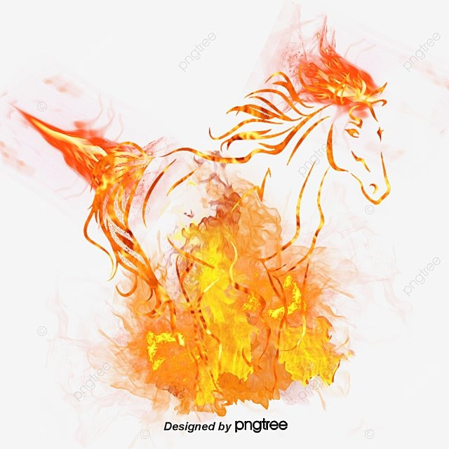cheval de flamme feu bougie d allumage flamme fichier png et psd pour le t u00e9l u00e9chargement libre