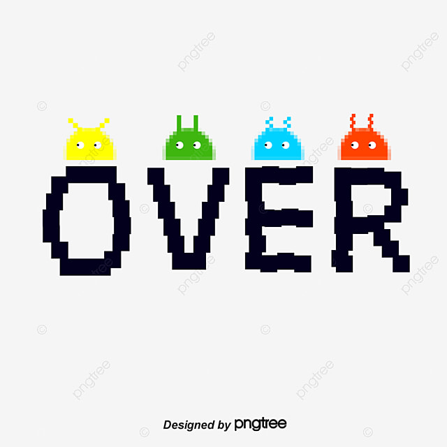 Gameend Game Over PNG And Vector