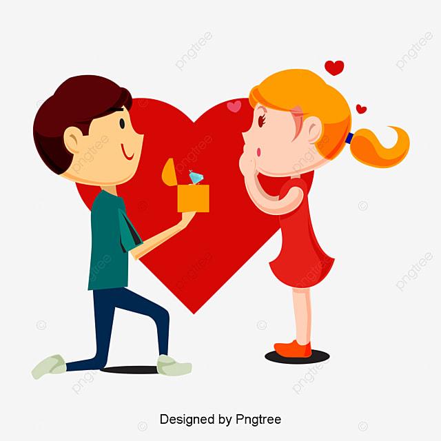 In Love Cartoon: Boy And Girl Love Cartoon Photos