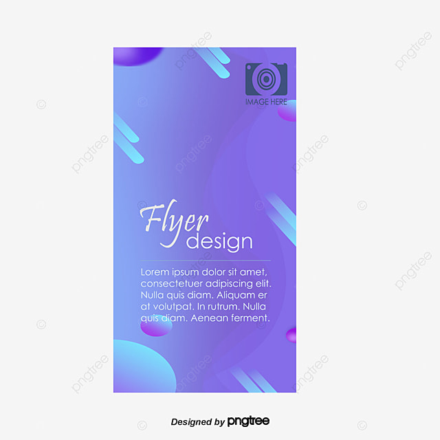 Flyer Blue Color Pages Flyer Template Png And Vector For Free Download