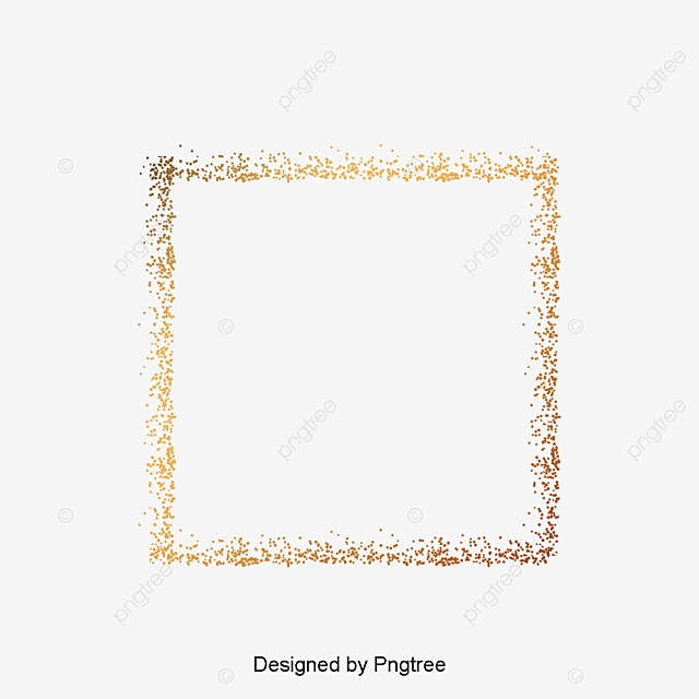 Silver Frame Silver Sequins Glitter Material Platinum