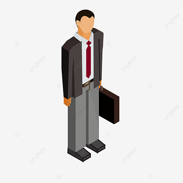Fi cartoon office worker flat people cartoon characters for Imagenes de trabajadores de oficina