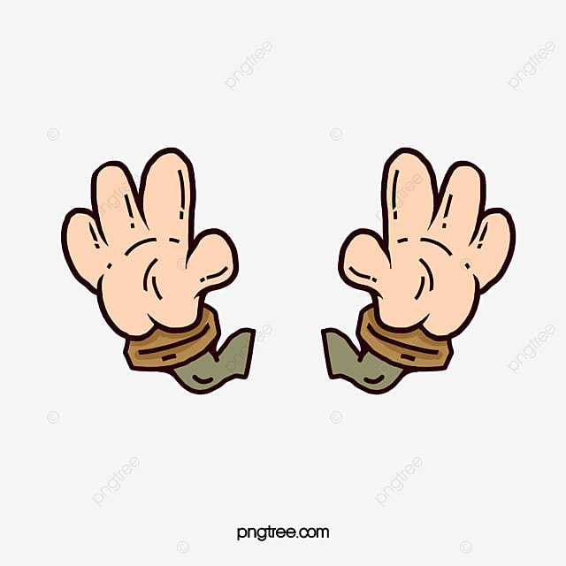 Cartoon hands cartoon clipart cartoon hand png image and clipart for free download - Dessin 2 mains ...