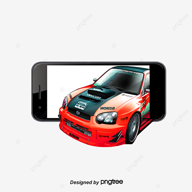 Phone 3d Car Car Clipart Phone 3d Car Png And Psd File For Free