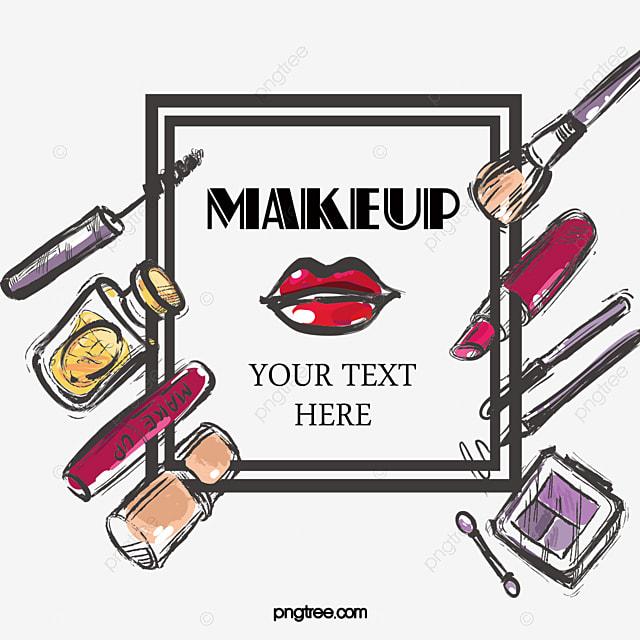 Dessin De Cosmetique De Maquillage Des Affiches En Matiere De