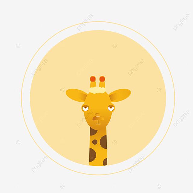 Girafe Joli Dessin Girafe Png Et Vecteur Pour Telechargement Gratuit