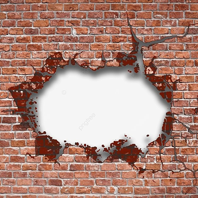 Hole In Wall, Wall, Brick, Holes PNG Image and Clipart for ...