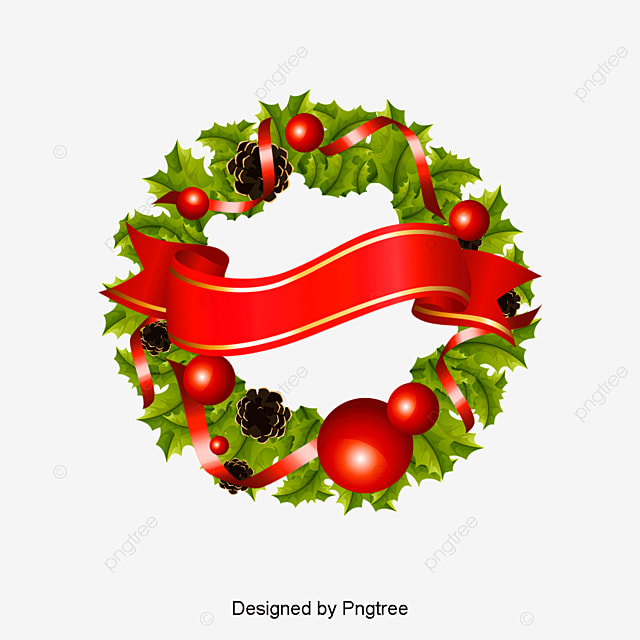 Christmas Wreath Png Vectors Psd And Clipart For Free Download