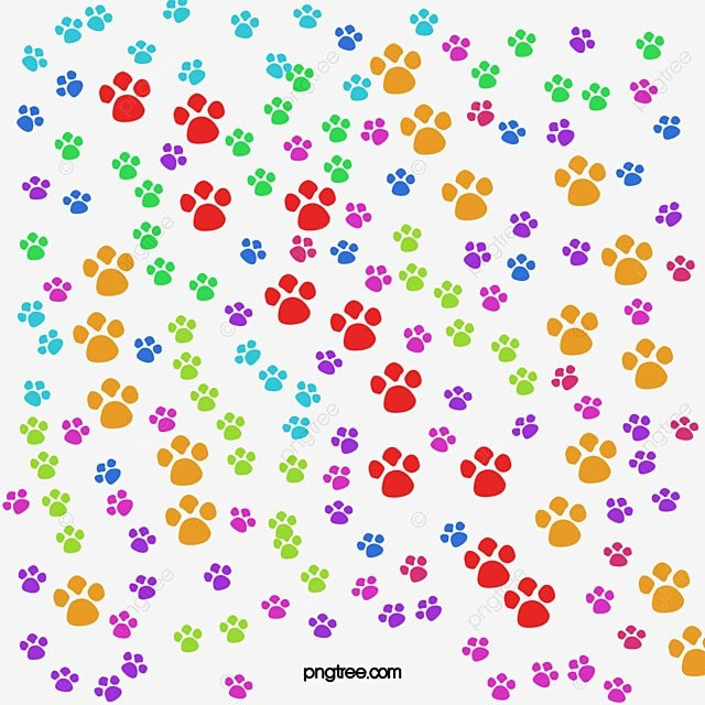 Paw Prints Background Paw Clipart Paw Background Cartoon Background Png Transparent Clipart Image And Psd File For Free Download To created add 29 pieces, transparent paw patrol images of your project files with the background cleaned. paw prints background paw clipart paw