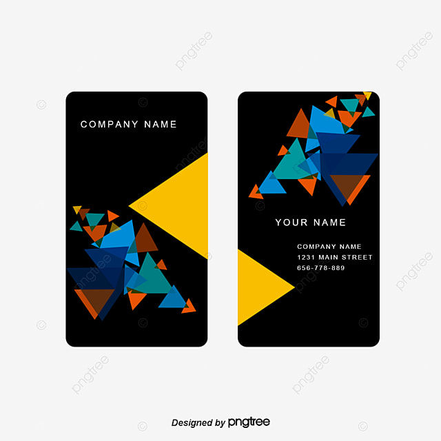business card personalized business cards fashion business card