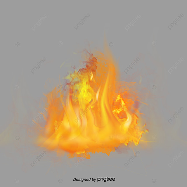 Blue Fire Cool Smoke Wallpaper PNG And PSD