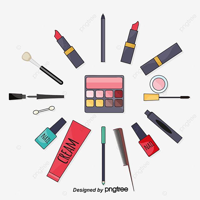 Creative Makeup Tools, Beauty, Makeup, Makeup Tools PNG and Vector