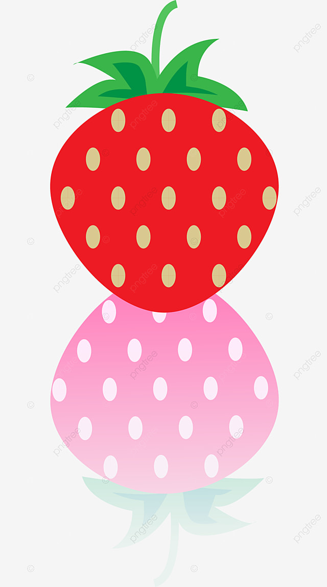 Strawberry, Red, Fruit, Water PNG Image