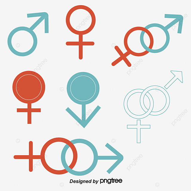 Male And Female Symbols The Man Woman Key Png And Vector For Free