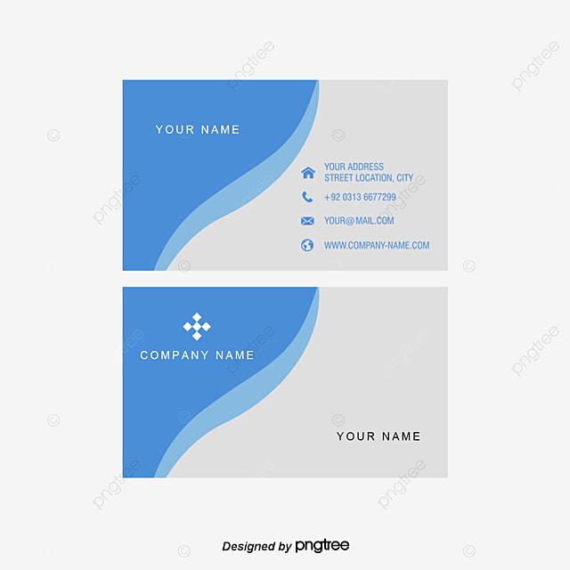 Business Card Simple Business Card Business Card Template PNG - Simple business cards templates