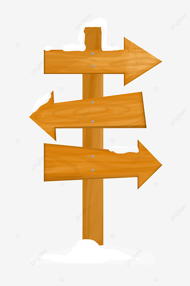 Indicator Board Wooden Arrows Wood Material PNG Image And Clipart