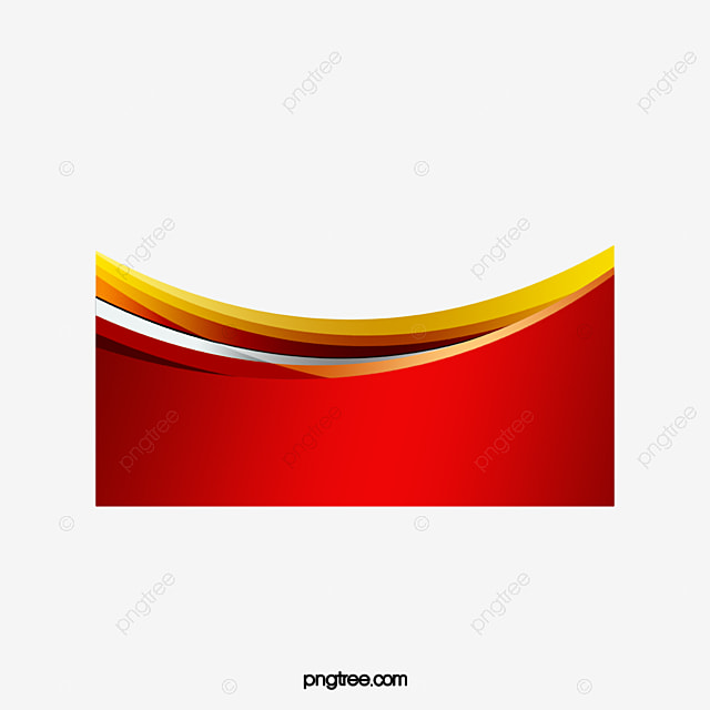 Border Curve, Red, Curve, Frame PNG and PSD File for Free ...