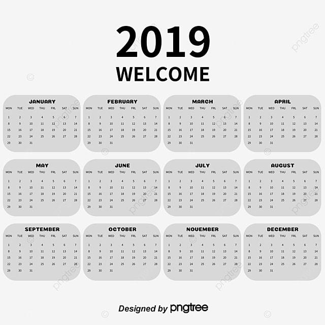 2018 calendar vector 2018 png and vector