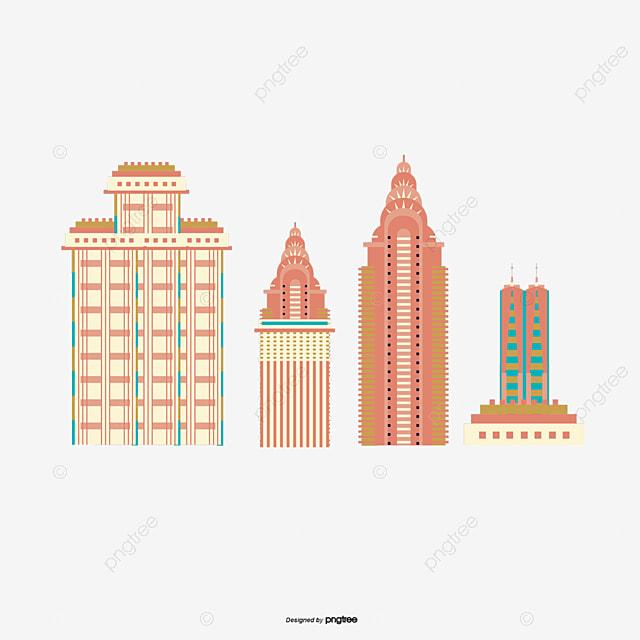 Edificio de dibujos animados, Cartoon, Edificio, Edificio ...