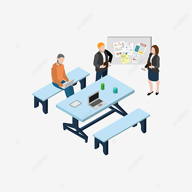 A Group Of People Meeting People Clipart Business Discussion