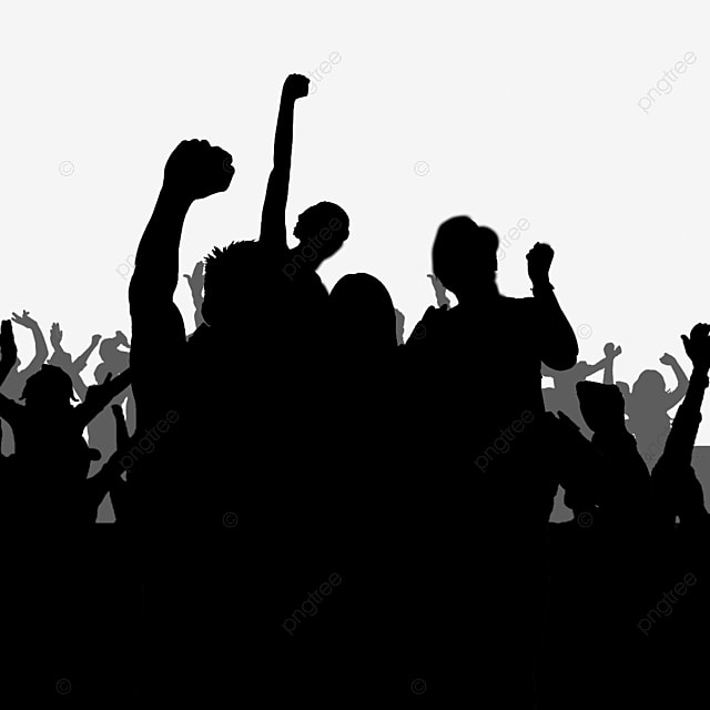 Crowd People Cheer Png Image And Clipart For Free Download