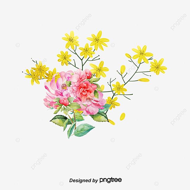 Hand Painted Flower Box