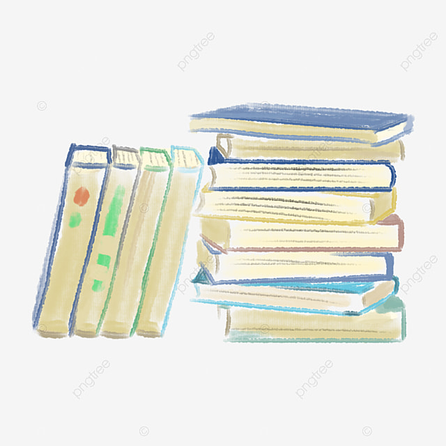 Book Clipart Bookshelf PNG Image And