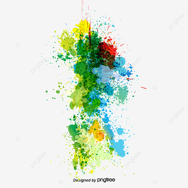 creative color splash splash color art png and vector for free