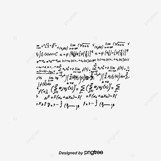 Fórmula Matemática, Matemáticas, Algebra, Fórmula PNG y Vector para ...
