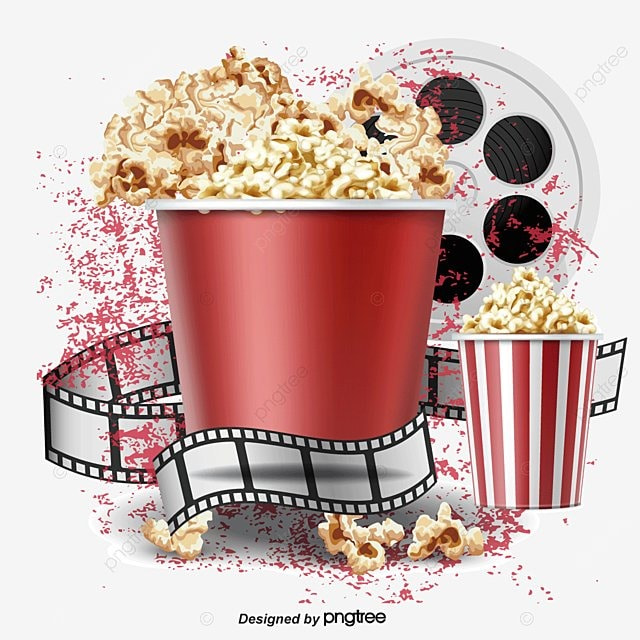 Popcorn Wallpaper: Popcorn And Film, Popcorn, Film PNG And Vector For Free