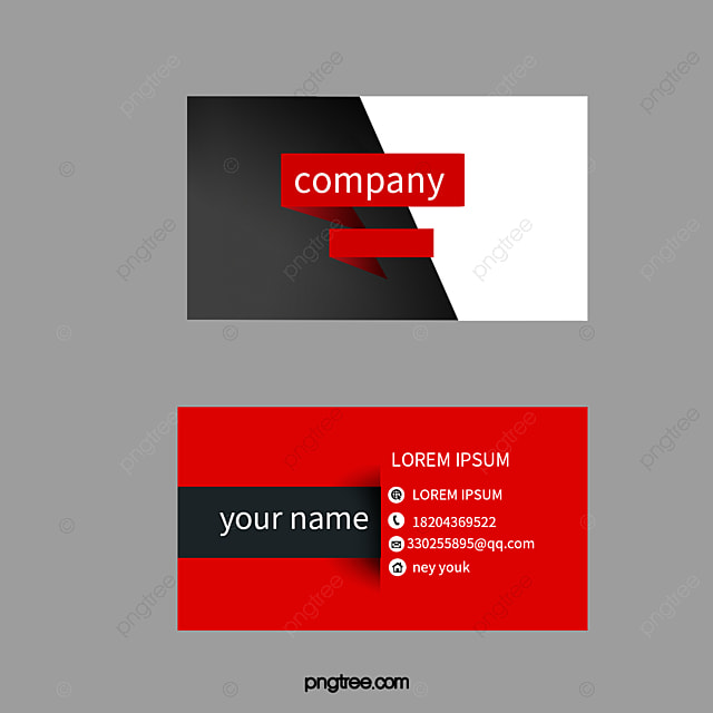 Business Card PNG Images | Vectors and PSD Files | Free Download on ...