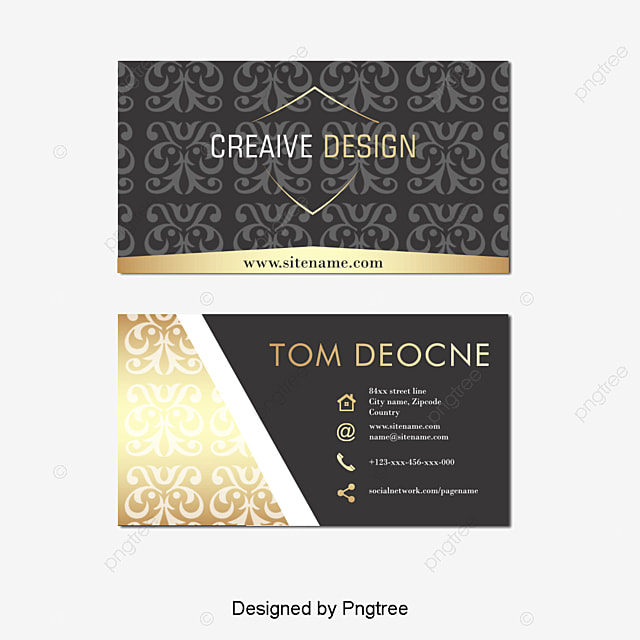 Business Card, Personalized Business Cards, Fashion Business Card ...