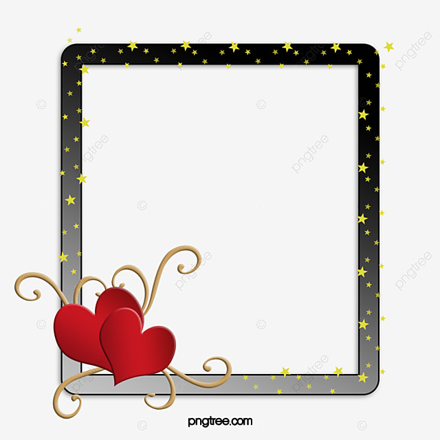 Heart Frame, Heart, Frame, Couple Photo Frame PNG Image and Clipart ...